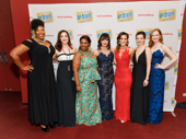 In Transit's powerhouse ladies are all glammed up for their Great White Way opening.