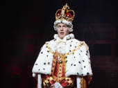 Jonathan Groff as King George in Hamilton.