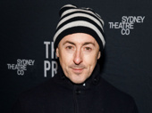 Tony winner Alan Cumming steps out for The Present's opening night.