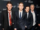 The Present's gents Toby Schmitz, Eamon Farren, Chris Ryan and David Downer get together.