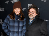 Emmy winner Tina Fey and her husband, Jeff Richmond, hit the Broadway opening night circuit. Fey and composer Richmond are currently collaborating on the stage adaptation of Mean Girls.
