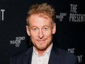 The Present's star Richard Roxburgh looks sharp on his opening night.