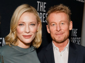 Happy opening to The Present's scribe Andrew Upton, stars Cate Blanchett, Richard Roxburgh and director John Crowley! See the show at the Ethel Barrymore Theatre.