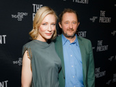 The Present's scribe and star, couple Andrew Upton and Cate Blanchett, snap a sweet pic.