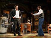 Brandon J. Dirden as Booster and John Douglas Thompson as Becker in Jitney.