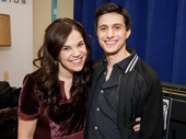 Significant Other co-stars Lindsay Mendez and Gideon Glick get together.