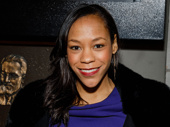 Tony winner Nikki M. James snaps a pic.