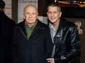 Four-time Tony-winning playwright Terrence McNally and his husband (and Broadway producer) Thomas Kirdahy take a pic.