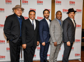 The handsome gents of Jitney: Keith Randolph Smith, Harvy Blanks, André Holland, Michael Potts and Brandon J. Dirden.