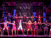 The cast of Kinky Boots.