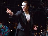 James Barbour as The Phantom in The Phantom of the Opera.