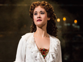 Ali Ewoldt as Christine in The Phantom of the Opera.