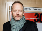 Tony winner and Six Degress of Separation-bound star John Benjamin Hickey attends Yen's off-Broadway opening.