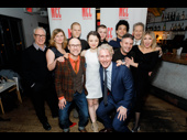 MCC's Artistic Directors Robert LuPone, William Cantler, Bernard Telsey and Executive Director Blake West join Yen's company pic. Congrats on a successful off-Broadway opening!