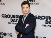 We see Groundhog Day star Andy Karl's shadow! You know what that means: six more weeks of winter!
