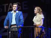 Michael Xavier as Joe Gillis & Siobhan Dillon as Betty Schaefer in Sunset Boulevard.