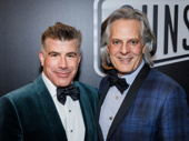 Stage and screen star Bryan Batt and his husband Tom Cianfichi attend Sunset Boulevard's Broadway opening.