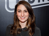 Waitress' Tony-nominated composer and lyricist Sara Bareilles is on the scene.
