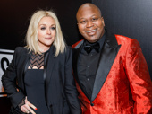 Unbreakable Kimmy Schmidt duo Jane Krakowski and Tituss Burgess step out for the Broadway opening of Sunset Boulevard.