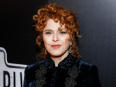 Broadway legend Bernadette Peters strikes a pose.
