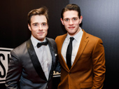 Bandstand-bound Corey Cott and his brother Casey look sharp.