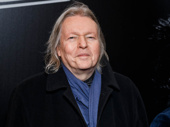 Sunset Boulevard scribe Christopher Hampton hits the red carpet.