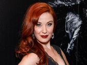 Broadway fave Sierra Boggess rocks the red carpet.