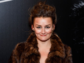 Alison Wright is set to star in Sweat this season, but first she glams it up for Sunset Boulevard's Broadway opening.