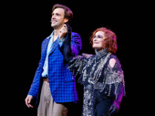 Sunset Boulevard stars Michael Xavier and Glenn Close bow on opening night.