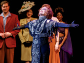 The greatest star of all! Glenn Close takes her curtain call on opening night of Sunset Boulevard.