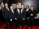 The gents of Sunset Boulevard look sharp!