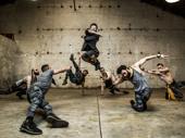 Nick Gaswirth, Blaine Alden Krauss, Ken Clark, choreographer Sam Pinkleton, Alex Gibson, Brandt Martinez and Reed Luplau