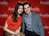 These two will be magnifique! Amélie stars Phillipa Soo and Adam Chanler-Berat get together.