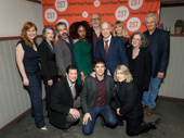 Congrats to Man of Nebraska's off-Broadway company, including Heidi Armbruster, Annette O'Toole, director David Cromer, Nana Mensah, scribe Tracy Letts, Reed Birney, Annika Boras, Kathleen Pierce, Tom Bloom, William Ragsdale, Max Gordon Moore and Second Stage Artistic Director Carole Rothman. Catch the play at the Tony Kiser Theatre.