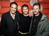 Broadway alums Yul Vazquez, Sam Rockwell and Josh Hamilton get together.