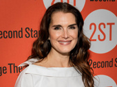 Stage alum Brooke Shields works it on the red carpet.