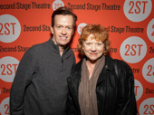 Acting couple Dylan and Becky Ann Baker take a photo.