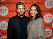 Another acting couple: Paul Sparks and Annie Parisse hit the red carpet.