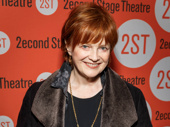 Tony winner Blair Brown has arrived.