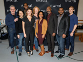 Congrats to the cast of Sweat! Experience the play's Broadway bow beginning on March 4 at Studio 54.