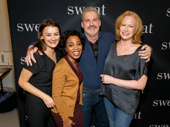Sweat stars Alison Wright, Michelle Wilson, James Colby and Johanna Day are ready for Broadway!