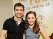 We're crazy for Tony Yazbeck and Laura Osnes!