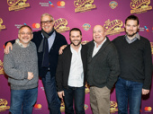 Now that's a dream team! Charlie and Chocolate Factory's music maker Marc Shaiman, lyricist Scott Wittman, choreographer Joshua Bergasse, director Jack O'Brien and scribe David Greig get together.