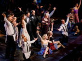They've got rhythm! The cast of Crazy for You takes their curtain call.(Photo: Emilio Madrid-Kuser)