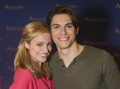 These two! We cannot wait to see Christy Altomare and Derek Klena bring Anastasia and Dmitry to life.
