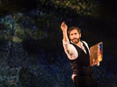 Jake Gyllenhaal as George in Sunday in the Park with George.