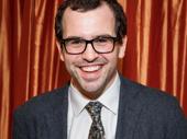 Matt Bittner is all smiles for his Broadway debut in Present Laughter.