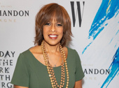 Gayle King hits the red carpet.