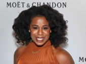Orange is the New Black fave Uzo Aduba gets glam.