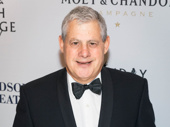 Super producer Cameron Mackintosh breaks out the black tie.